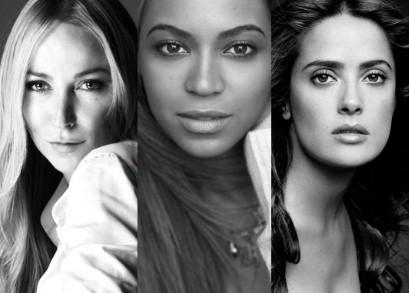 Frida Giannini_Beyonce-Knowles-Carter_Salma-Hayek-Pinault