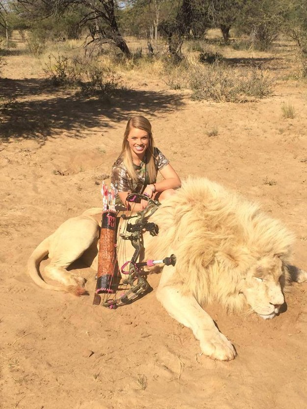 Image of: Kendall Jones 19 Year Old Girl Who Hunts Endangered Animals Is Causing An Uproar With People Calling For Facebook To Ban Her Smag31 19 Year Old Girl Who Hunts Endangered Animals Is Causing An Uproar