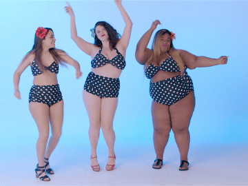 women_all_sizes_dancing_swimsuits_body_positivity