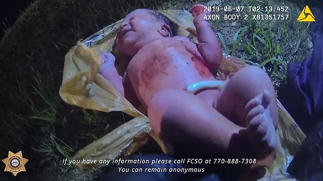 Miracle as Baby girl found alive inside plastic bag in the woods