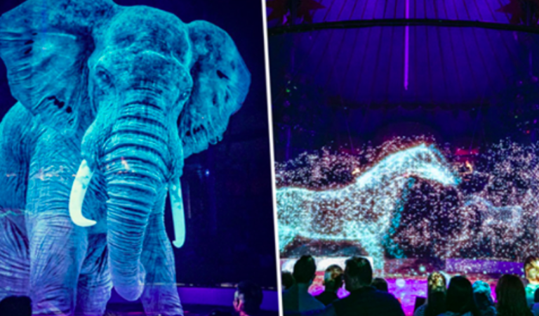 Circus Replaces Live Animals With Hypnotic Holograms For A Cruelty-Free Experience