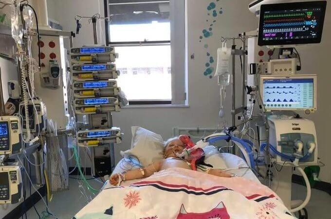 5-year-old girl who beat coronavirus fighting for her life with Kawasaki disease